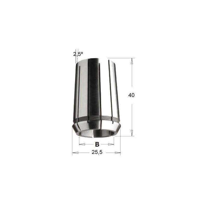 Pinzas elasticas biconicas EOC-16 DIN6388