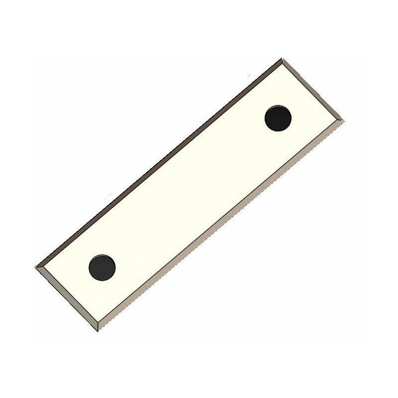 Cuchillas reversibles 4 cortes con 2 corte inclinados