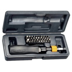 Conjunto destornillador dinamométrico graduable1~6 Nm