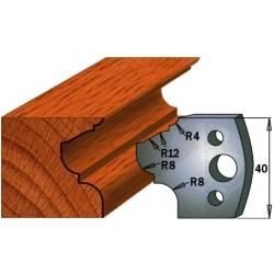 Par de Cuchillas y contracuchillas para madera 690.089