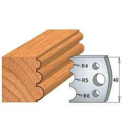 Cuchillas y contracuchillas para la madera 690.090