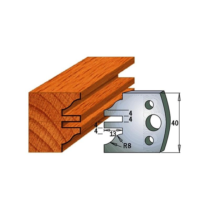 Cuchillas con/sin contracuchillas para madera 690.097