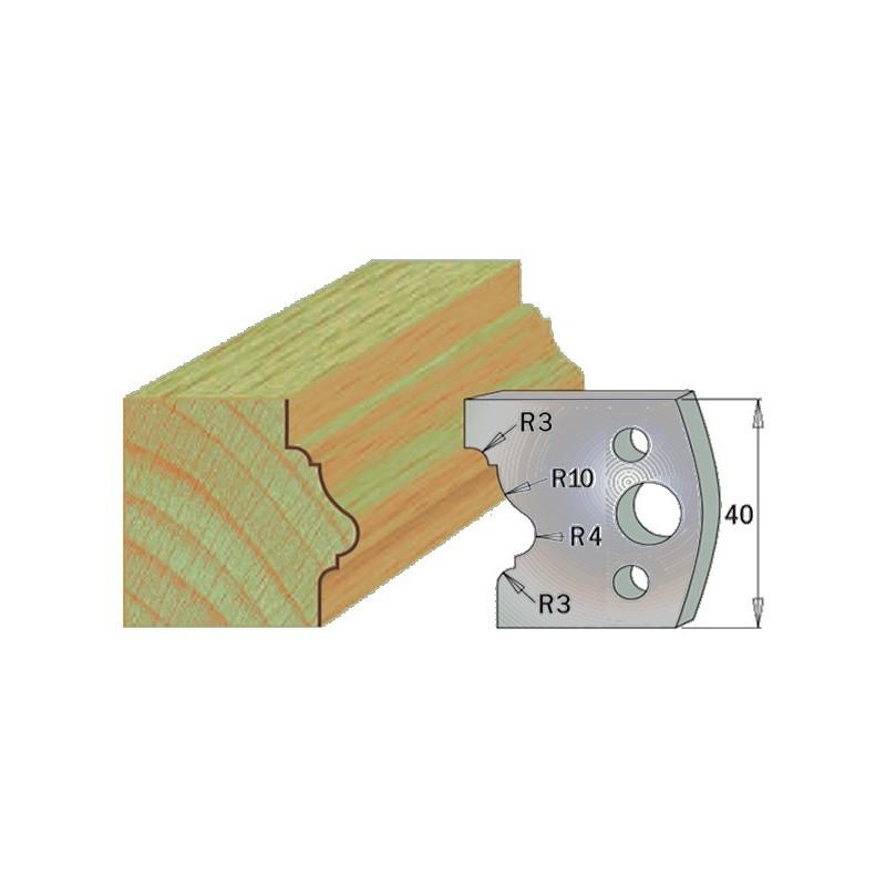 Cuchillas con contracuchillas para madera 690.102