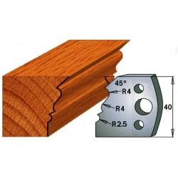 Cuchillas y contracuchillas para la madera 690.107