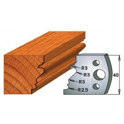 Cuchillas con contracuchillas para madera 690.122