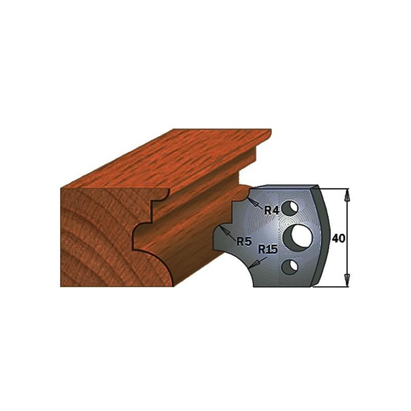 Cuchillas para hacer molduras en maderas 690.129