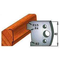 Cuchilla/contracuchilla para la madera 690.130