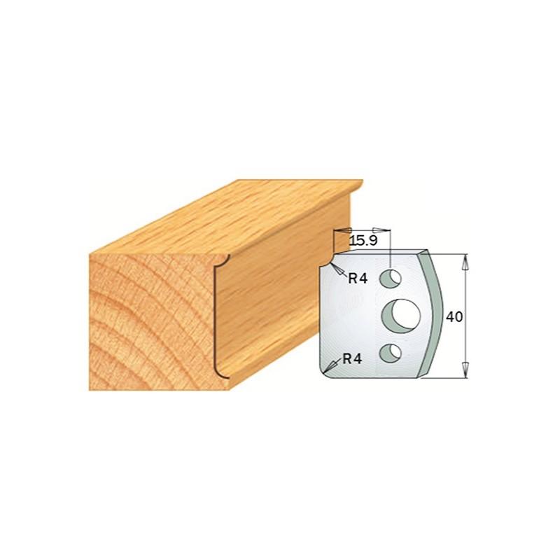 Cuchilla y contracuchilla para la madera 690.171