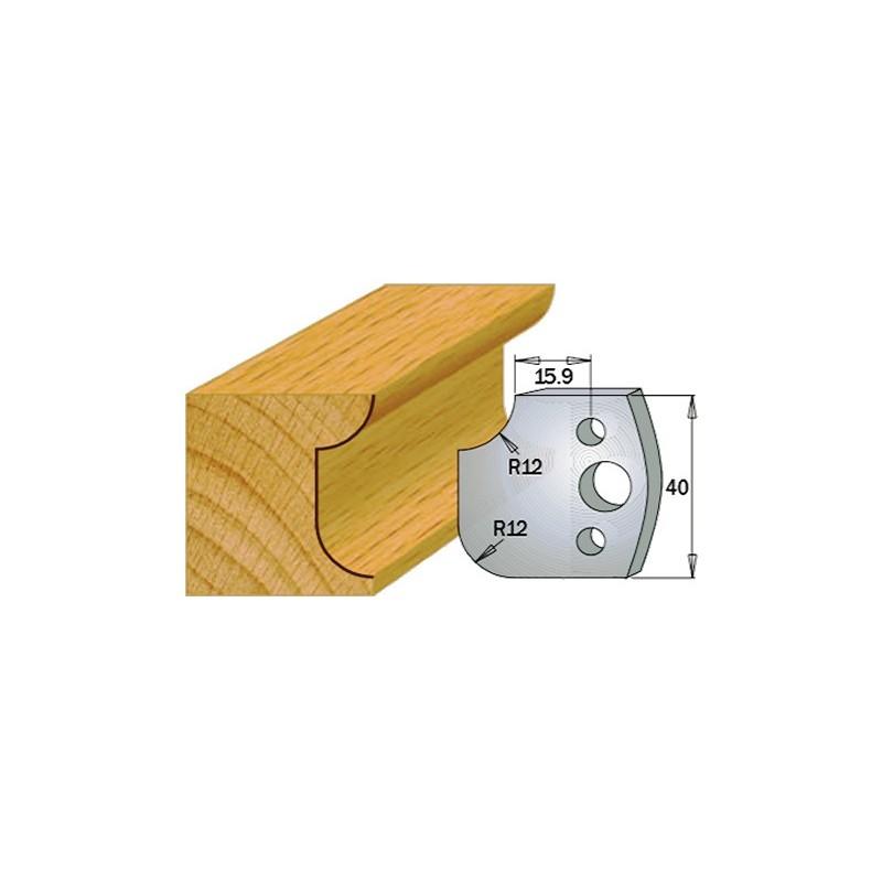 Cuchillas y contracuchillas para la madera 690.176