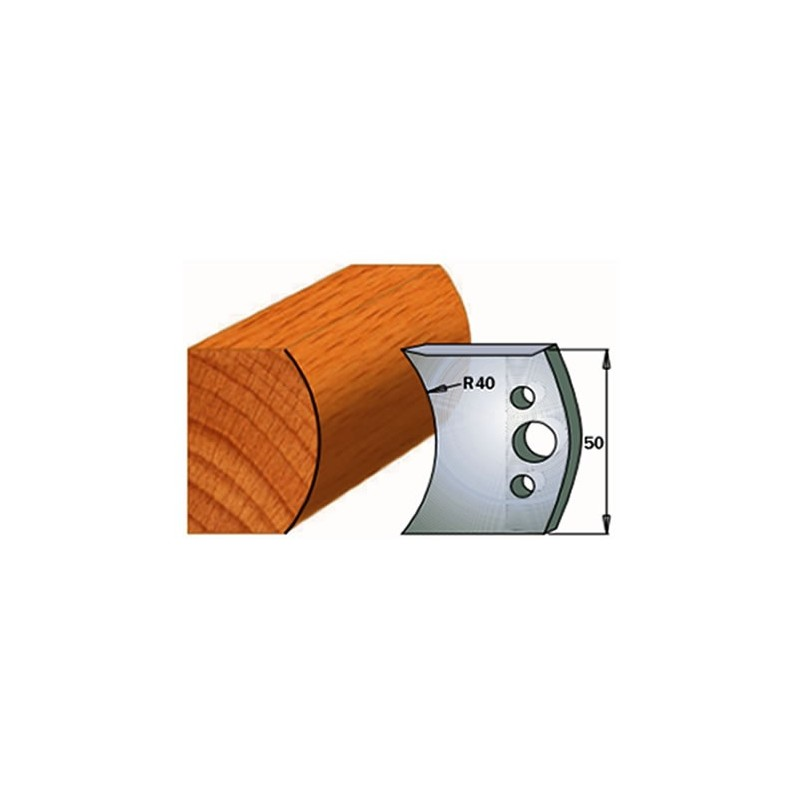 Cuchillas y contracuchillas para la madera 690.555