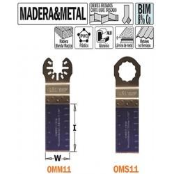Hoja sierra inmersión herramienta oscilante multifuncional 28mm