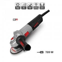 Amoladora angular de 720 W y 115 mm