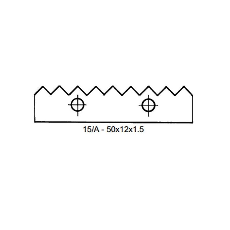 Cuchilla para cabezal C501AM para juntas encoladas