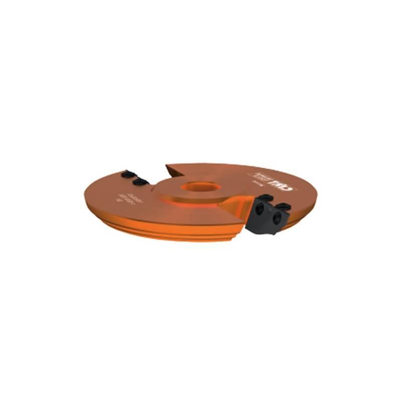 Portacuchillas horizontal para la realizacion de plafones