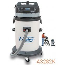Aspirador industrial Virutex de 62 litros