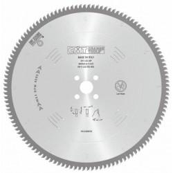 Sierra circular para materiales no ferrosos y plásticos con angulo negativo -6º