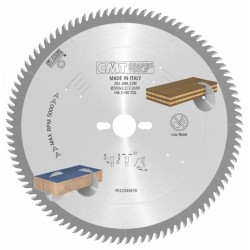 Disco de corte para laminados melaminicos en escuadradoras