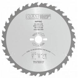 Sierra circular para madera a favor de veta con limitador para obras