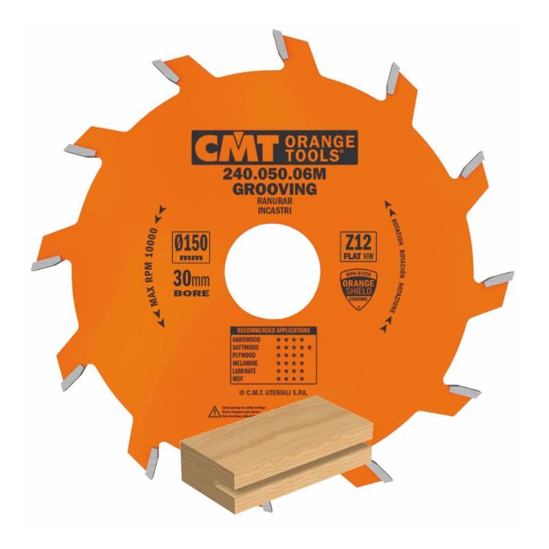 disco de corte ranurador para madera 240 CMT
