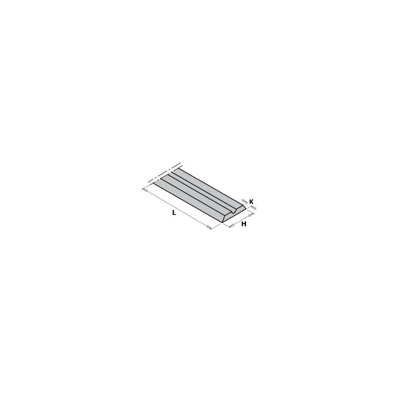 Cuchillas de md integral reversibles para cepillos portátiles