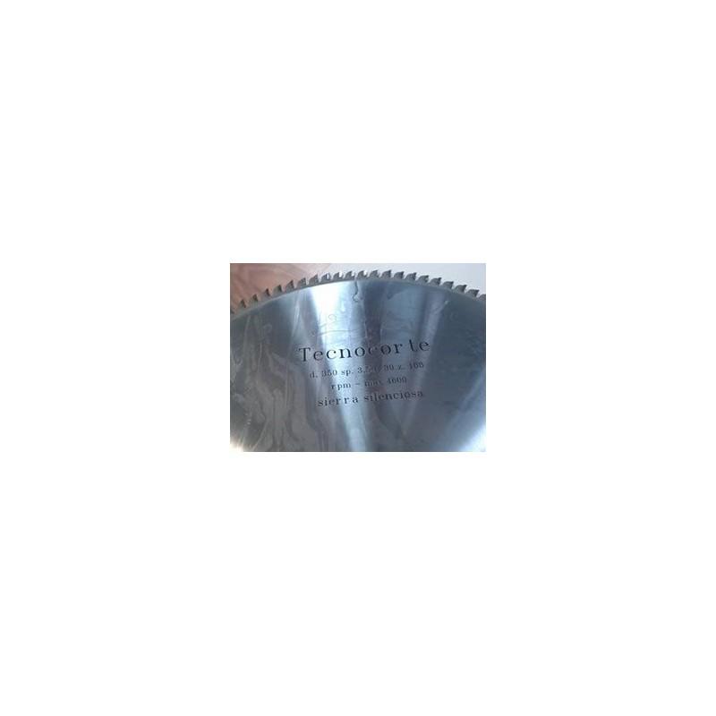 Sierra circular para materiales no ferrosos y plásticos