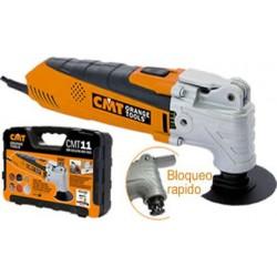 Maquina para (cortar, lijar y rascar; corte de madera, metal, placa de yeso, suelo laminado, plásticos y fibra de vidrio), lijad