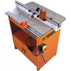 Mesa de trabajo industrial para electrofresadoras