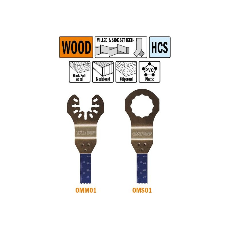 10 mm hoja de sierra de inmersion y perfilado para madera