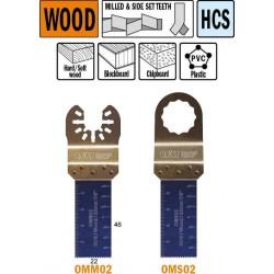 Hoja de sierra de 20 mm de  inmersion  para madera