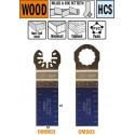 28 mm hoja de sierra de inmersion y perfilado para madera