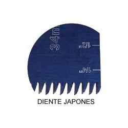 Dentado tipo japones