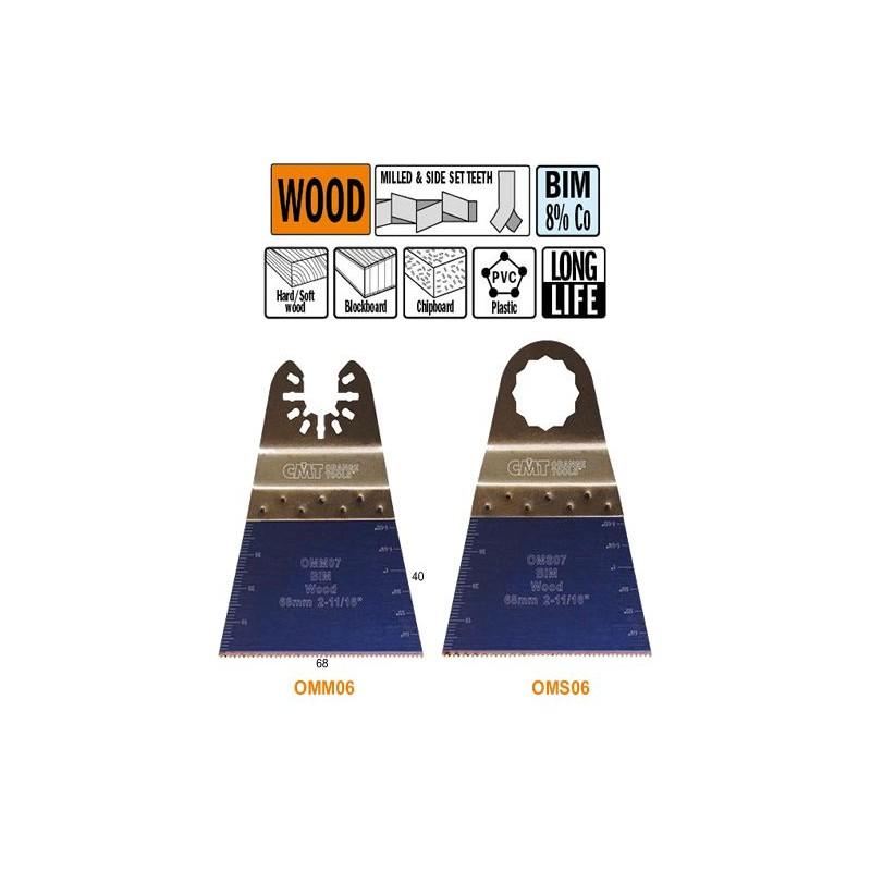 68 mm Hoja de sierra de precisión con dentado Japonés para madera con duración extra larga