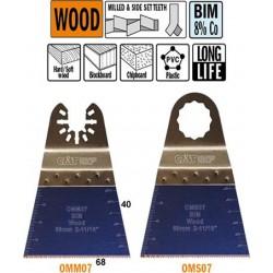 Hoja de sierra de 68mm para madera 8% Co