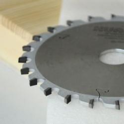 Incisor conico PCD para escuadradoras