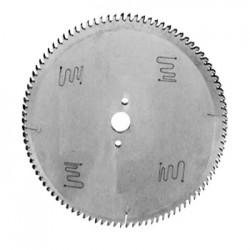 Sierra circular con placas de DIAMANTE POLICRISTALINO para corte de tableros recucbiertos y sin recubrir