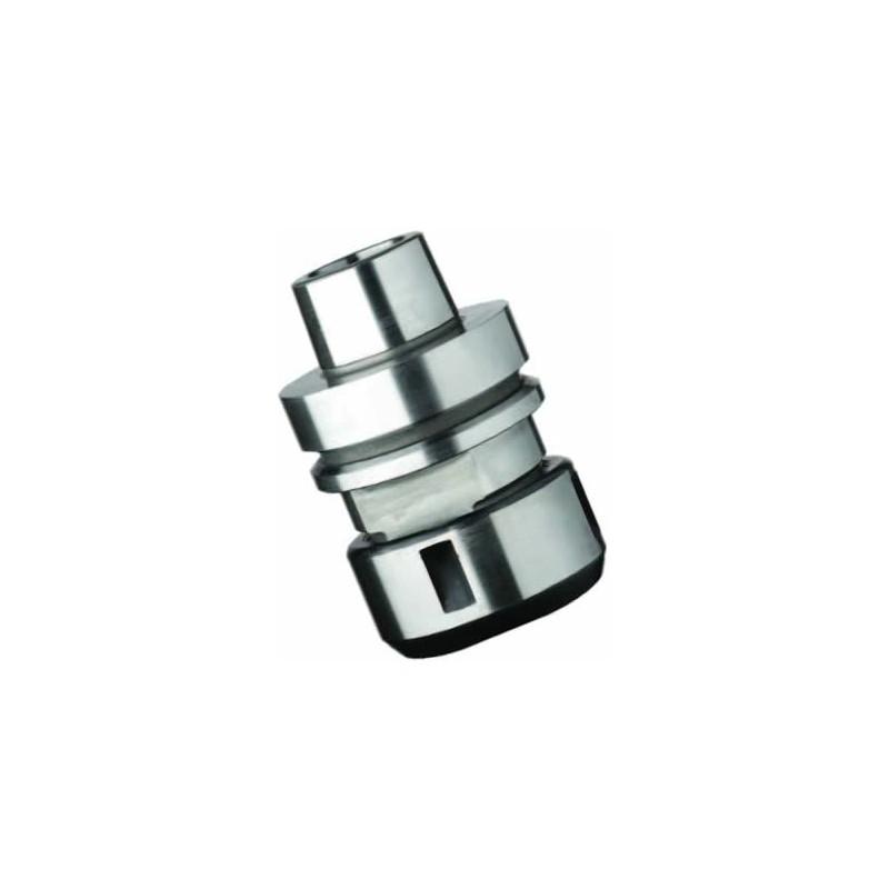 Mandril de pinzas elasticas DIN6388 con conexion HSK-F63