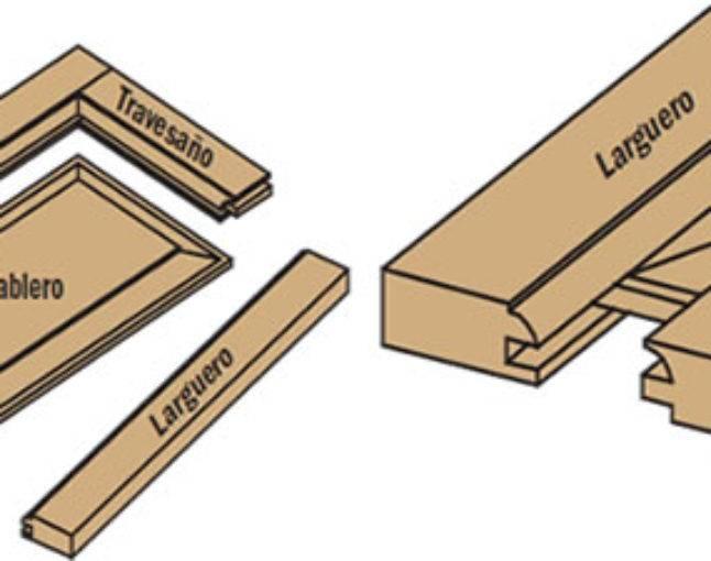 Proyecto para fabricar una puerta de madera