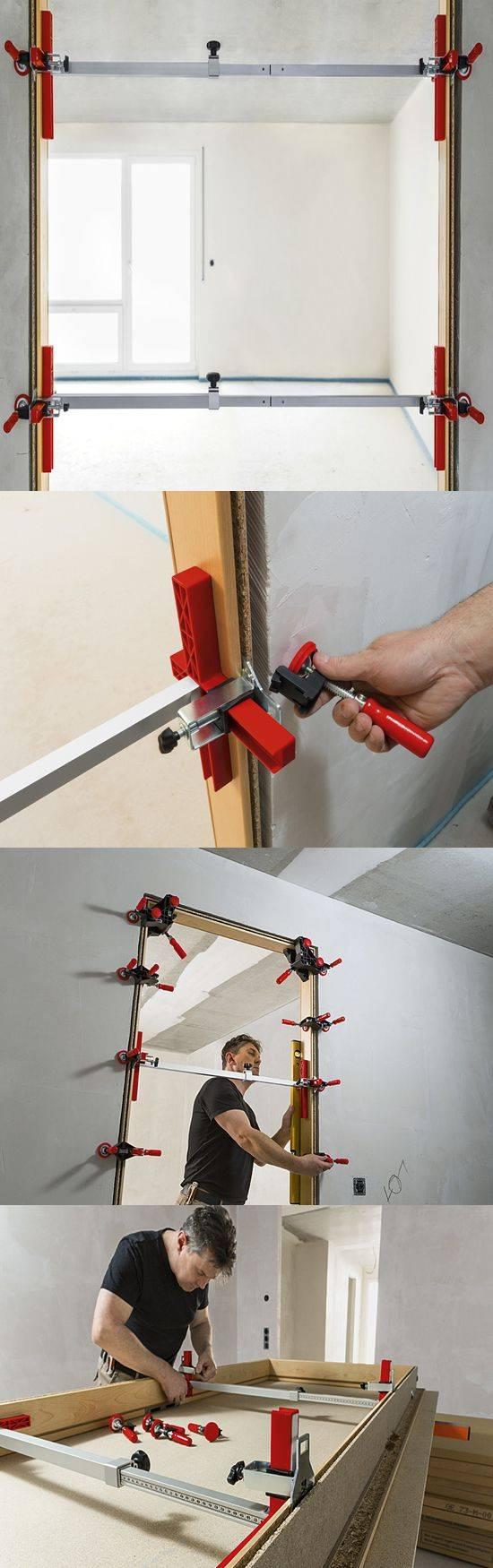 Bessey-herramienta para marcos block de puertas - Tecnocorte
