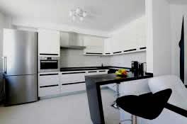 Ejemplo de una cocina completa