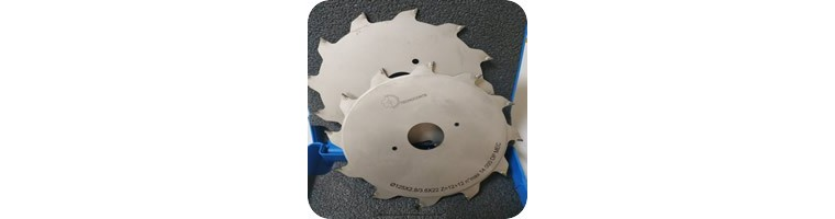Sierra circular Incisora de diamante para melamina:Corte perfecto.
