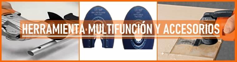 Accesorios Herramienta Multifunción Oscilante | Comprar en TECNOCORTE