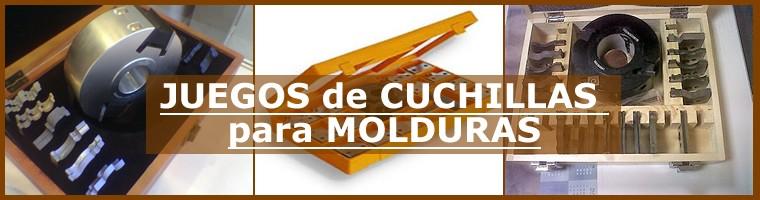 Juegos CUCHILLAS para MOLDURAS