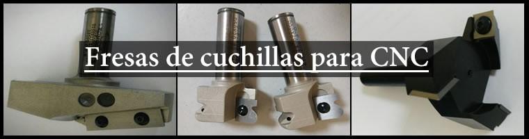 PORTACUCHILLAS para CNC
