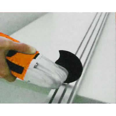 diseño robusto de la carcasa para mayor durabilidad y zona de agarre posterior delgada para una mayor comodidad en usos prolongados