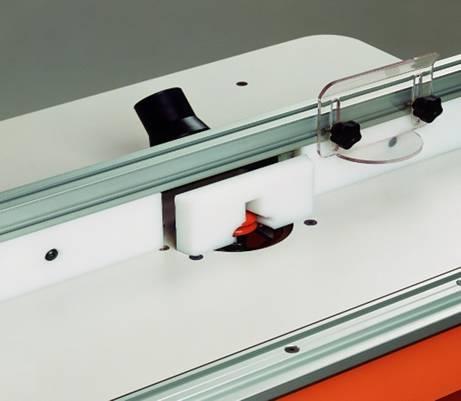 Guia moldeable en polipropileno para mesa de trabajo cmt