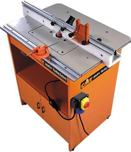 Mesa de trabajo industrial para electrofresadora