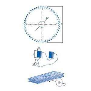Sierra incisor de diamante policristalino para maquinas seccionadoras o escuadradoras,se utiliza para evitar el astillado en la cara inferior del tablero