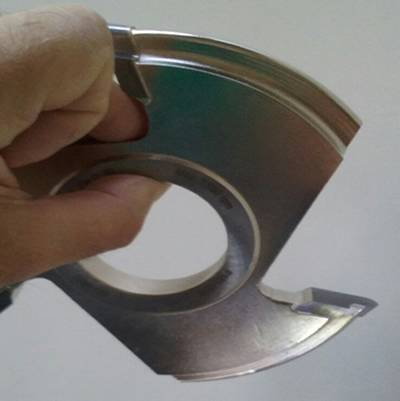 Fresa para fabricar uñeros o tiradores en sus puertas,ventanas o cajones