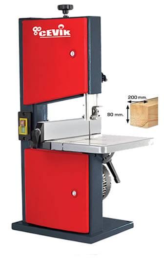 Sierra de cinta para madera vertical