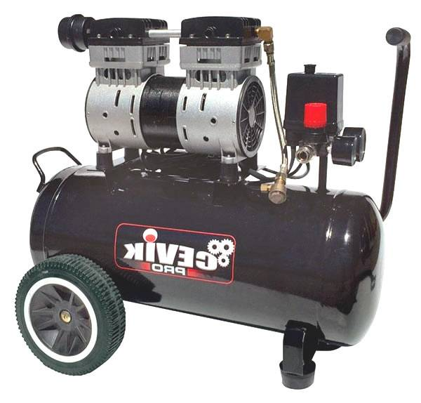 Compresor de aire silencioso de 1,5 hp sin ningun tipo de mantenimiento